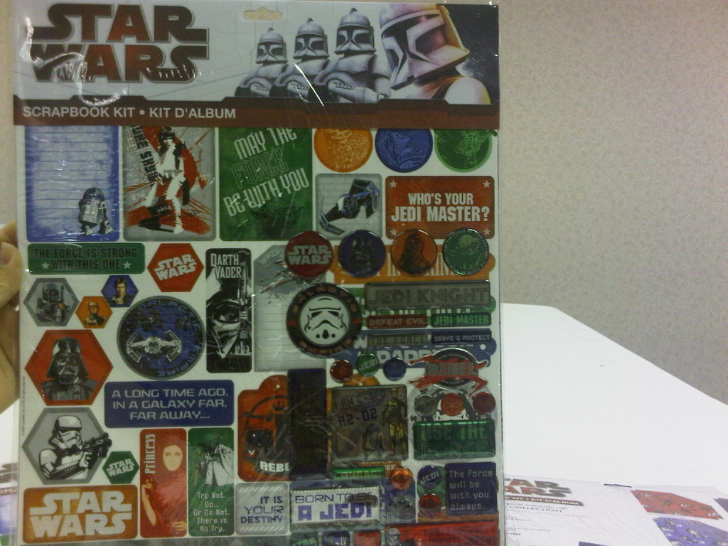 Star Wars II Scrapbook Kit